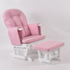 2017 TF05T baby furniture glider chair in pink cushion