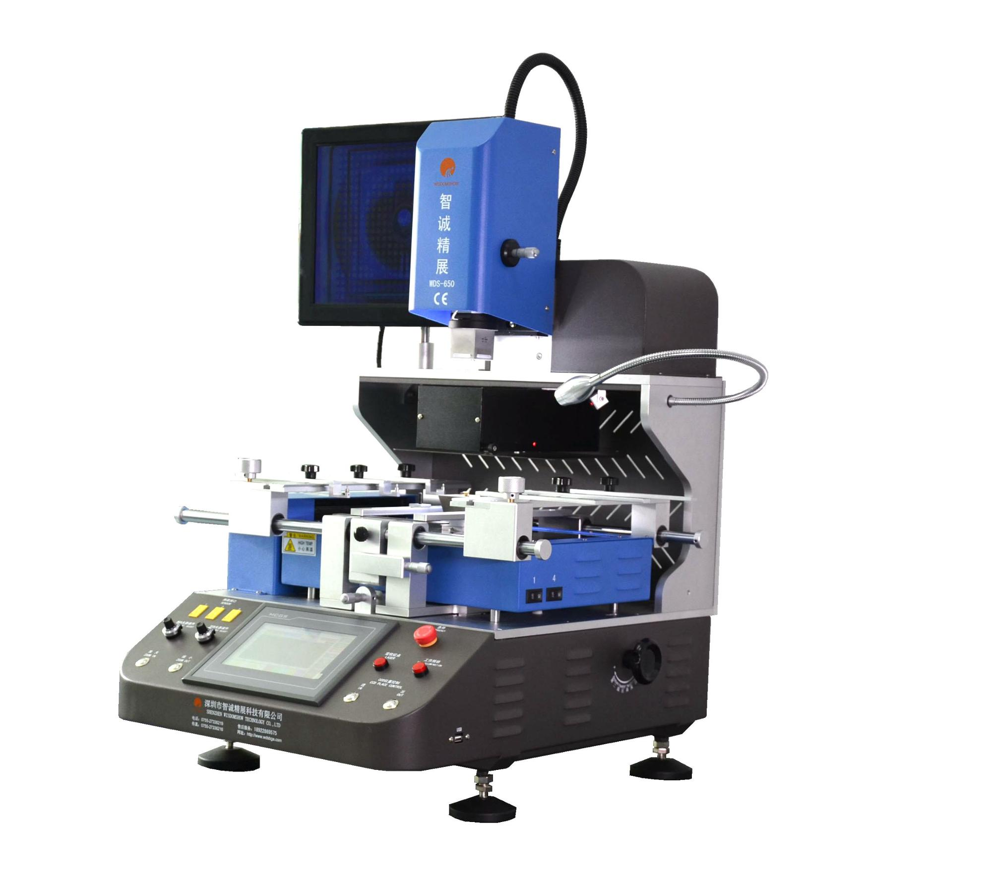 LED bga rework station WDS650 Wisdomshow new arrive motherboard repair machine for laptop/mobile
