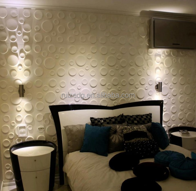 Moisture-proof interior&exterior decoration 3d wall coating panels