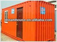 mobile shipping container toilet