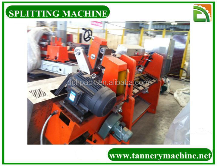 tannery machine small leather split machine