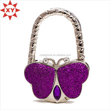 Crystal arrective design bag hangers purse hangers bag holder