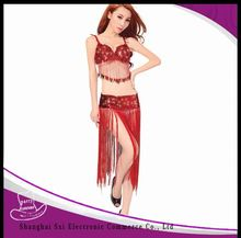 China supplier manufacture reasonable price gold women halloween costume