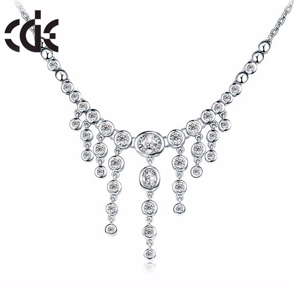 CDE China Wholesale Jewelry Chain,Fashion Silver Chain Necklace