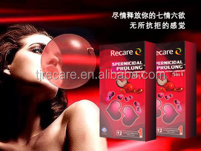 OEM fashion design female condom with free sample