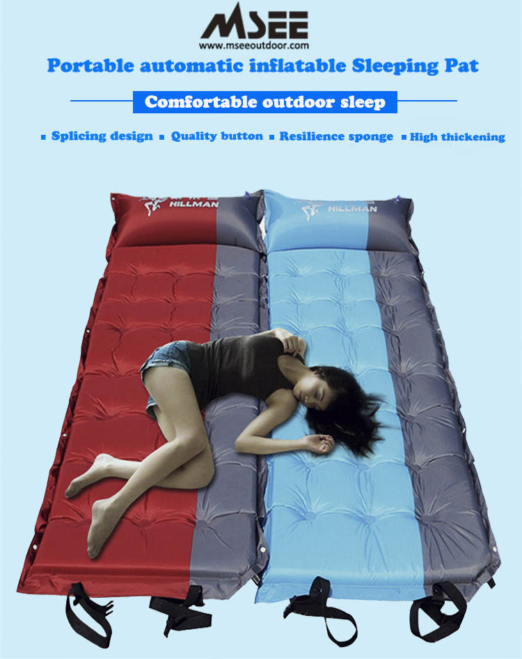Sport Msee Quality Camping Mat inflatable changing mat for mechanical bull