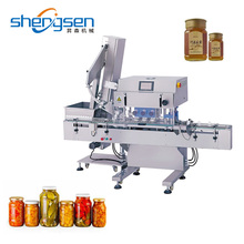 Automatic Plastic Glass Jar Capping Machine