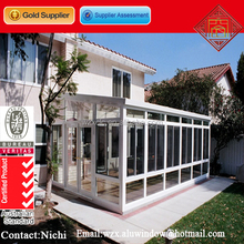 Factory price prefabricated custom made glass conservatory