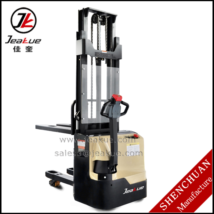 1 ton 1.2ton Double lift Walkie electric pallet jack for sale