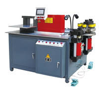 copper aluminum busbar cutting bending punching tool manufacturing portable powder coating machine