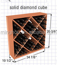 OEM solid diamond cube/storage wine bottle cubes