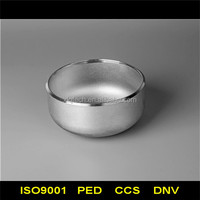 PED 97/23/EC approval stainless steel pipe end cap
