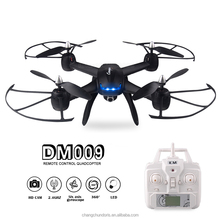 DM009 FPV real-time RC Drone high-definition camera 6 axis 3D flip one button return mode LED light suitable for night flight