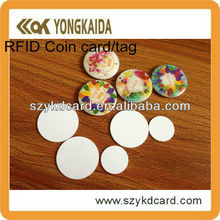 Customized Printing Shaped Smart Card RFID Coin Card