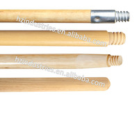 Direct factory natural wooden broom handle with good qaulity