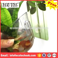 Reusable hot sale eco flower pot /plant pot wholesale aquarium fish tank imported