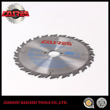 China TCT circular saw blade for cutting green wood and paper