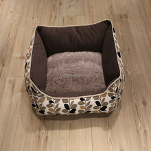 Comfortable pet bed accessories in china from suzhou dog house factory