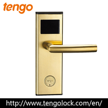 Top quality Electronic High quality RFID magnetic card hotel door lock with access control software