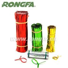 Precut and Spool Style Bag Packaging Wire Plastic Twist Tie