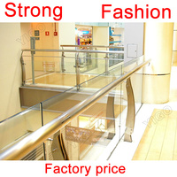 Professional outdoor glass balcony railing/stainless steel balcony railing designs Designs for sale