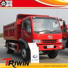 OEM RHD right hand drive diesel engine 136KW 180hp euro3 faw 4x2 tipper truck for tanzania