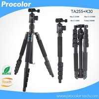 Professional Portable aluminum video Camera Tripod & monopod&Ball Head Compact for DSLR Camera