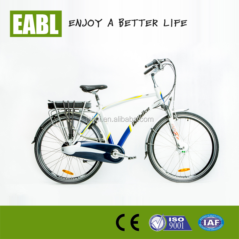 Chinese cheap 700C electric bike two wheel with throttle control, man beach ebike germany for sale