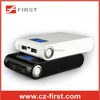 FST-P-1056 8800 mah power bank with flashlight charger 18650 battery china supplier