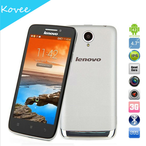 Lenovo S650 Vibe X mini 4.7inch Quad Core mobile phone MTK6582 1.3GHZ Android 4.2 1GB RAM 8GB 8.0MP Camera Dual SIM