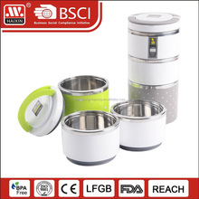 large food grade stainless steel container with lid