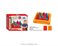 Child playing and drawing sand toy for sale -Castle Topic 500g