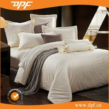 100% cotton plain white hotel bedspreads