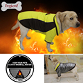 High Technology Heat Reflective Dog Coat Outdoor Waterproof Warm Pet Clothes Reversible