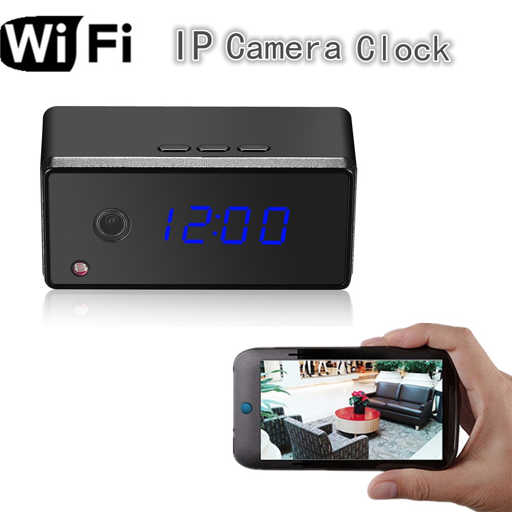 H.264 720P IP Camera WIFI Wireless CCTV 3g Network Spy Cam Video Home Security Surviellance Camera Clock