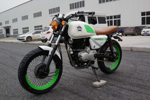 China Chongqing 150cc new product FUEGO CAFE RACER cheap for sales.