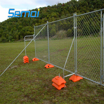 O/A PAYMENT chain construction temporary fence post base