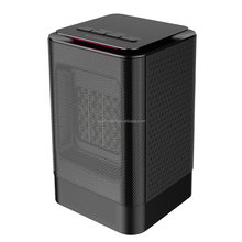 Portable Mini Ceramic Space Heater 450W/950W Personal Oscillating Heater with Tip-over and Overheat Protection