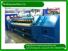 1500mm hydraulic fleshing machine for tannery leather processing