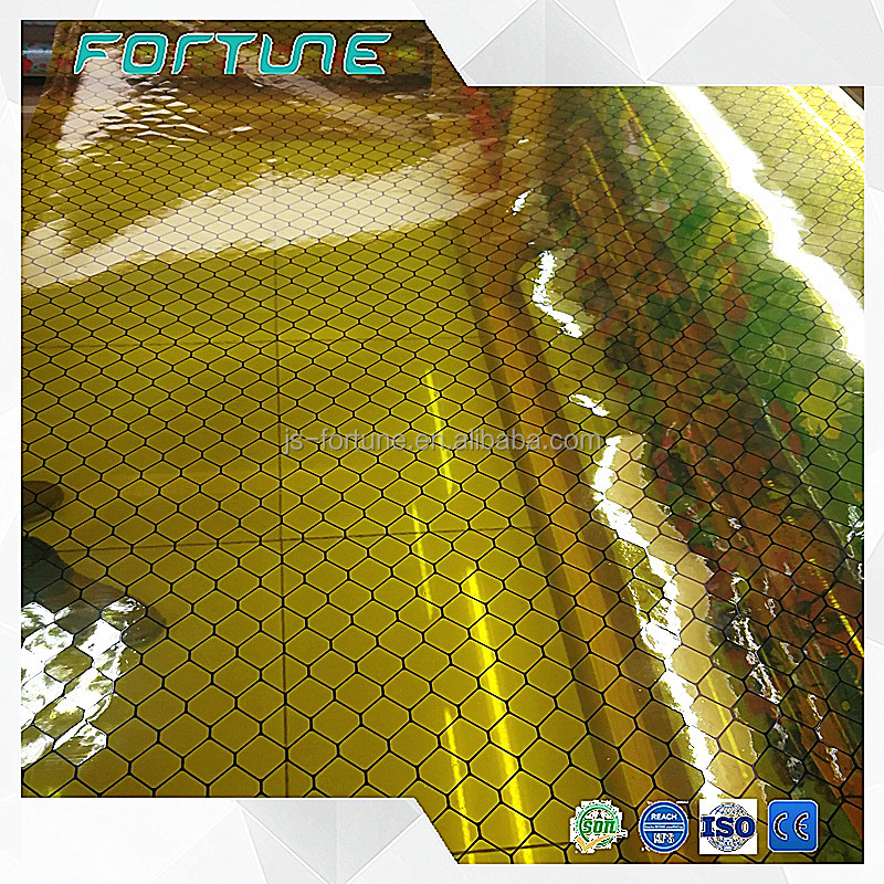 anti static coverall flexible clear transparent pvc film