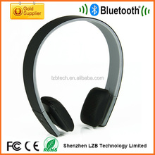 HSP HFP A2DP AVRCP Profiles Supported Bluetooth Stereo Headset with Microphone Fashion Mp3 Headphone