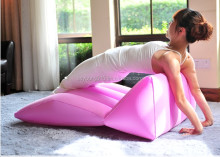 206 new wedge shaped inflatable pillows/beach towel inflatabe pillow/inflatable lwedge travel pillow