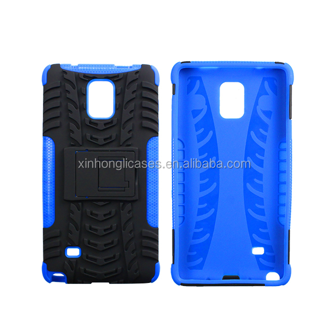 Hot selling hybrid slim armor tpu case for samsung galaxy note 4