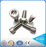 DIN 912 captive washer cap stainless steel screw