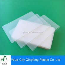 5mil 125mic Plastic EVA Coated Protective Clear Pet Laminated Pouches Film