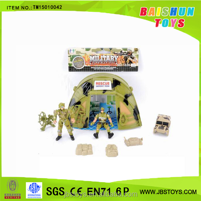 Military Set Toy with Truck and Soldier TM15010042