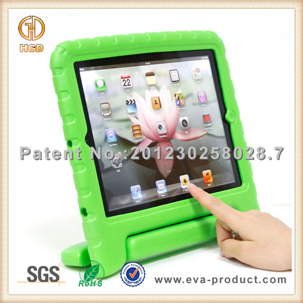 Rubber Skin Surface Case For iPad Mini ShockProof