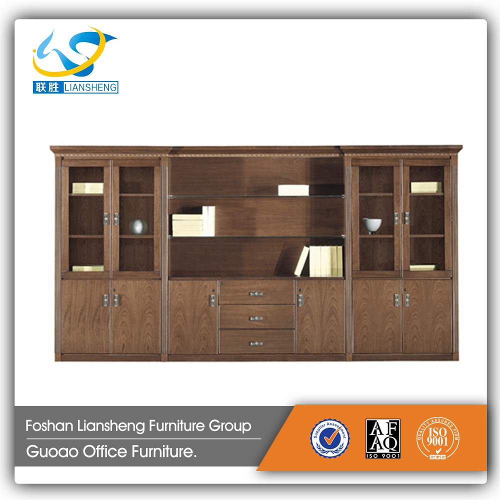 2016 New Design Office Furniture Antique Wooden Filing Storage Cabinet with drawing