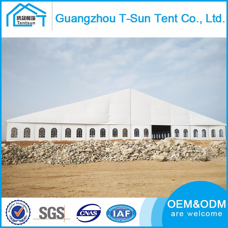 High Strength Aluminum Structure 50x80m Super Banquet Tent