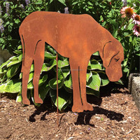 Laser Cut Metal Garden Art Animals